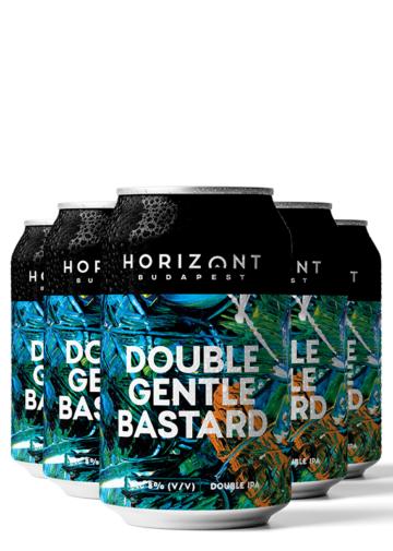 Double Gentle Bastard  / Double IPA  /  8%