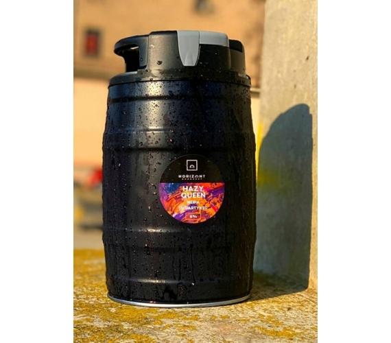 Hazy Queen - PartyKEG with CO2 cartridge