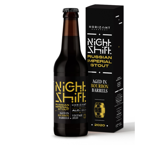Night Shift Vintage 2020  /  Russian Imperial Stout aged in bourbon barrels